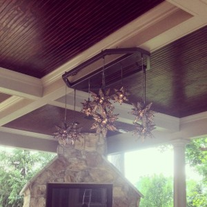 Outdoor Custom Chandelier